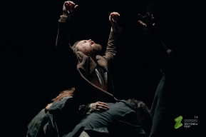 From There by Jo Strømgren. Zelionka dancefestival Ukaraine. Photo: Alexander Dolovov